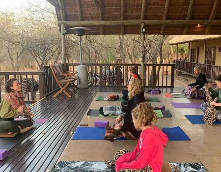 yoga safari pic